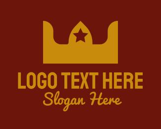 Queen - Modern Royal Crown  logo design