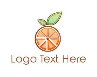 Slice - Orange Slices logo design