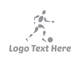 Soccer Tournament - Soccer Player logo design