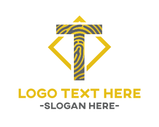 Lettermark - Tiger T logo design