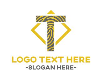 Alphabet - Tiger T logo design