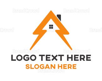 Electric - Electric Homes logo design