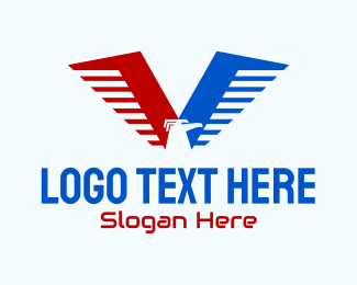 Bird - Eagle Airline Aviation  logo design