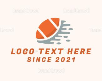 Federation - Orange Football logo design