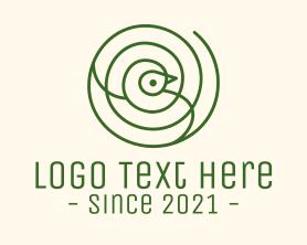 Free - Simple Bird Target logo design