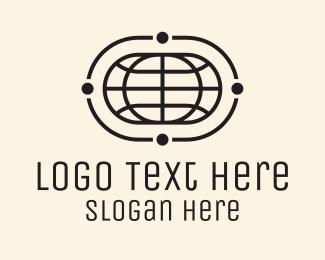 Parcel - Monoline Global Shipping logo design