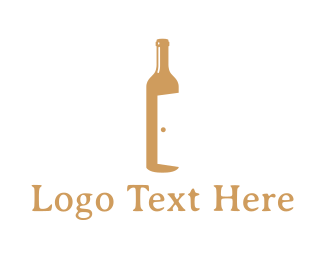 Lounge - Bar Door logo design