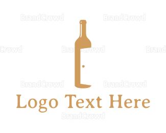 Cellar Door - Bar Door logo design