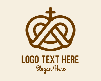 Pretzel Cross Bakery Logo