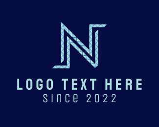 Business - Diamond Letter N logo design