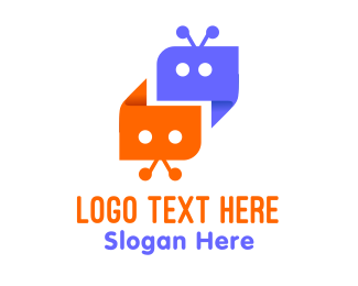 Ai - Chat Bots logo design