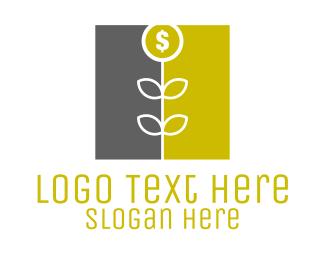 Fx - Money Flower logo design