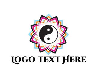Spiritual - Zen Flower logo design