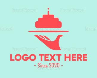 Tray - Cake Tray logo design