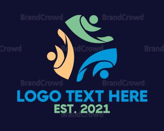 Crowdsourcing - People Leaf Club logo design