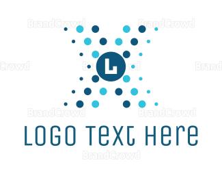 Cell - Futuristic Lettermark logo design