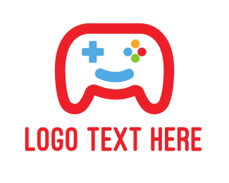 Game Developer - Happy Game logo design
