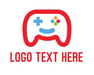Gaming - Happy Game logo design