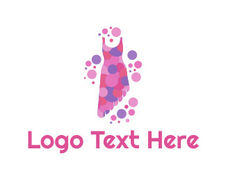 Second Hand - Asymmetric Dress logo design
