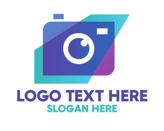 Modern Instagram Camera Logo