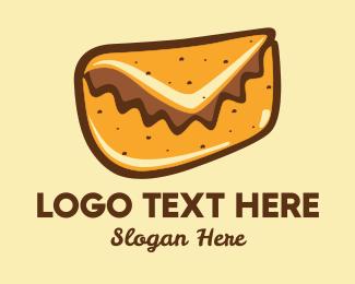 Taqueria - Mail Taco logo design