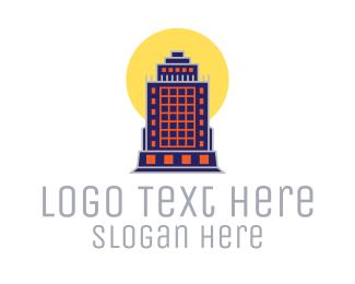 Imperial - Imperial Sun Building  logo design