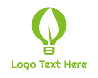 Idea - Eco Idea logo design
