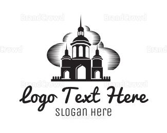 Moscow - Castle Fantasy logo design