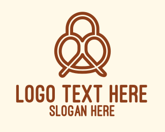 Dough - Pretzel logo design
