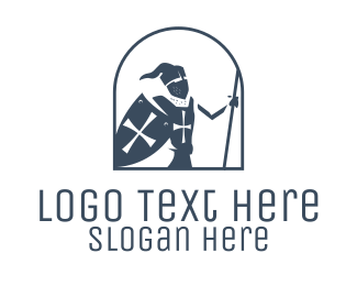 Knighthood - Medieval Knighthood logo design