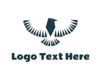 Falcon - Tribal Falcon logo design
