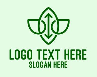 Pure - Simple Herbal Spa logo design
