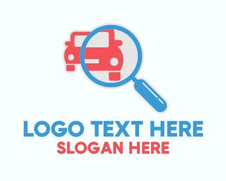 Detective - Car Inspection Search Finder logo design