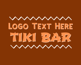 Bar - Tiki Bar logo design