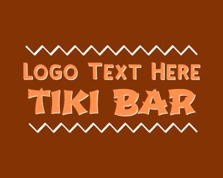 Hawaii - Tiki Bar logo design