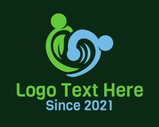 Element - Nature Water Element logo design