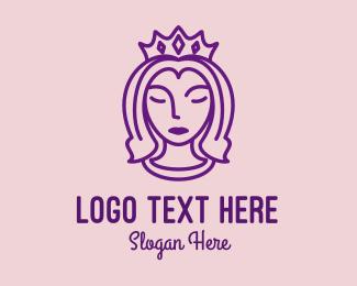 Beauty Queen Pageant Logo
