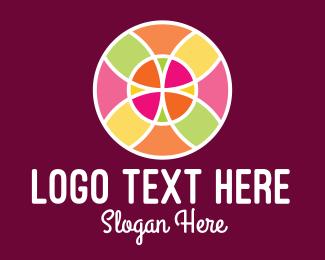 Decor - Colorful Decorative Mosaic logo design