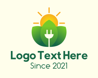 Energy - Natural Solar Energy  logo design