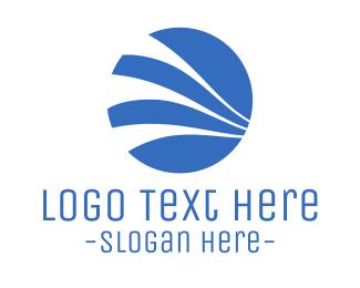 Wind - Wind Circle logo design