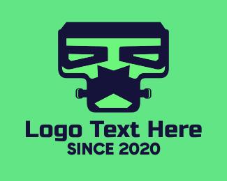 Frankenstein Robot Logo