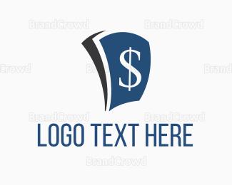 Money - Pay Money Blue logo design