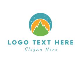 Night - Night Landscape logo design