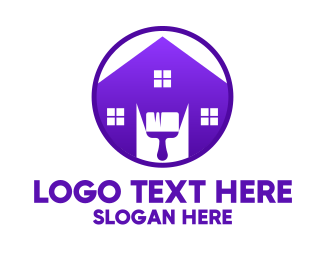 Backyard - Purple Hardware  logo design