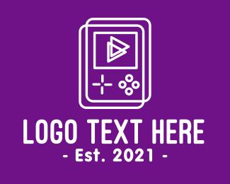 Apps - Minimalist Gaming Gadget logo design
