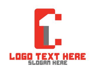 Mobile Service - Digital Tech Number 1 logo design