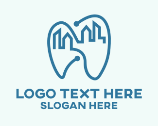 Teeth - Dental City Dentist logo design