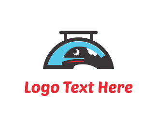Fast Food - Whale Food logo design