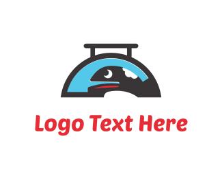 Tray - Whale Food logo design