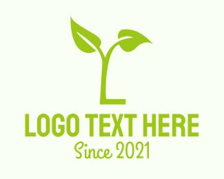 Green Letter L Logo